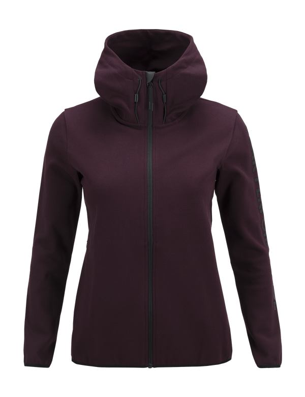 Peak Performance Women's Tech Zipped Hooded Sweater