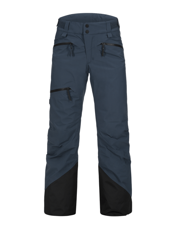 PEAKPERFORMANCE WOMEN'S TETON 2-LAYERS SKI PANTS BLUE STEEL