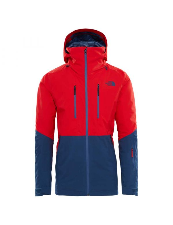 THE NORTH FACE ANONYM JACKET RED BLUE