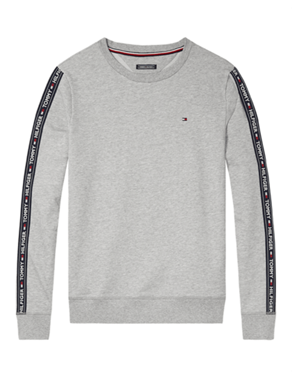TOMMY HILFIGER TRACK TOP LS GREY