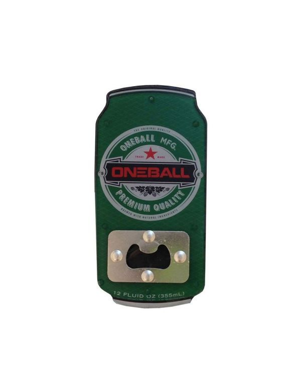 ONEBALL BOTTLE OPENER BEER PAD