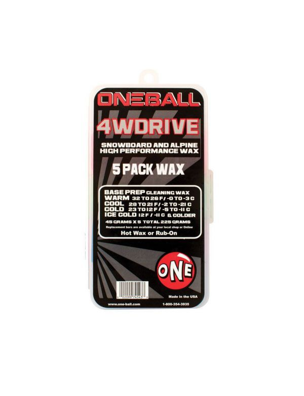 ONE BALL 4WDRIVE 5 PACK WAX